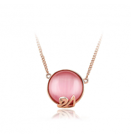 Ouxi - Collier SWAROVSKI ELEMENTS 11381-2 - Rose