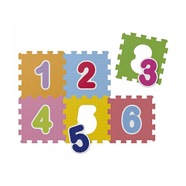 Chicco - Tapis Puzzle Chiffres