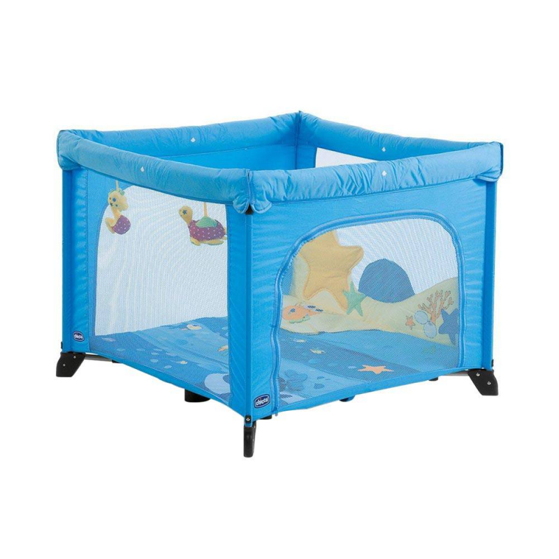 Chicco - Jouets - Parc Open Baby World Bleu