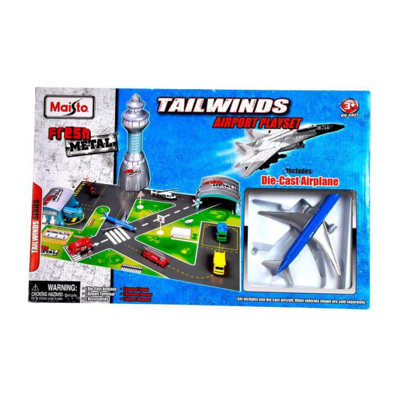 Maisto - 11010 - Ensemble de jeu Tailwinds Tower