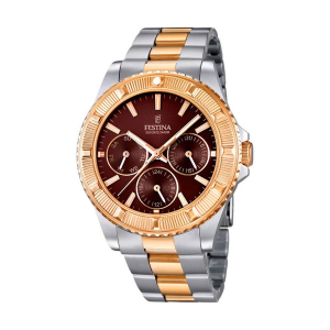 Festina - F16692/4 - Montre Mixte - Quartz - Marron