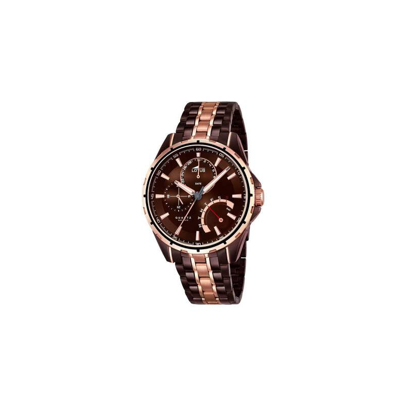 Lotus - L18206/1 - Montre Homme - Marron