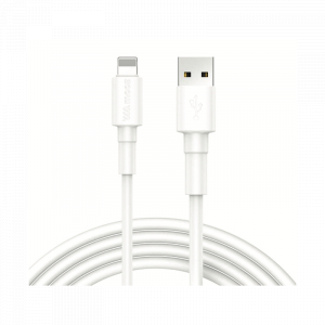 Câble Usb Mooz Lightning 1M Blanc