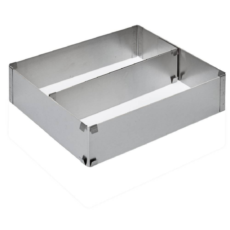 Rectangle A Pâtisserie Extensible En inox Gifi - 521671
