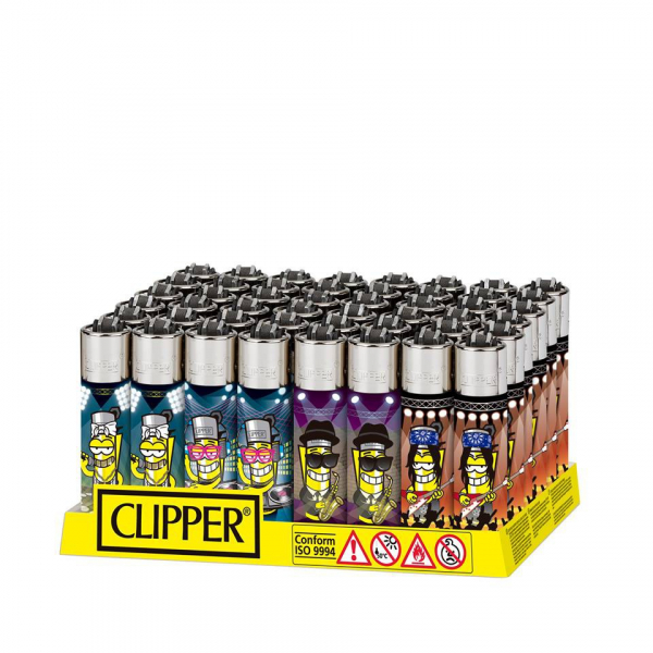 Clipper - CL3A062DZH - Briquets CP11 Clipperman Music