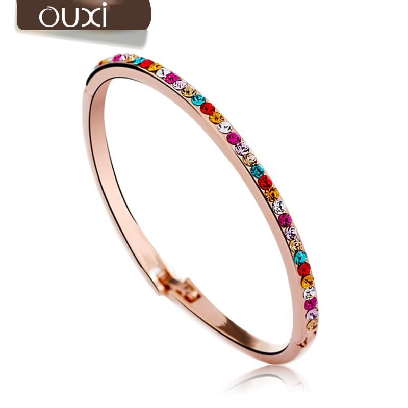 Ouxi - 50009-2 - Bracelet orné de cristaux SWAROVSKI ELEMENTS Multi-couleur